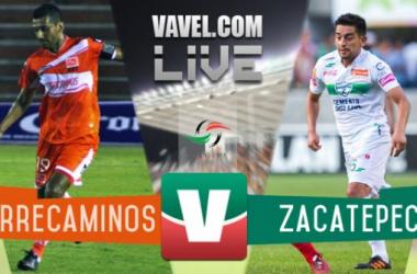Resultado Correcaminos - Zacatepec en Ascenso MX 2015 (2-1)