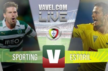 Resultado Estoril 1-2 Sporting na Liga NOS 2015/2016