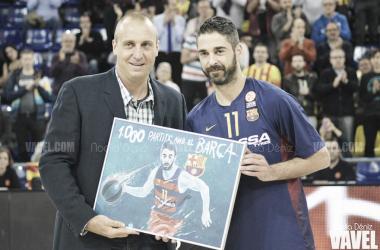 Navarro durante un partido de ACB | foto: fcbarcelona.es