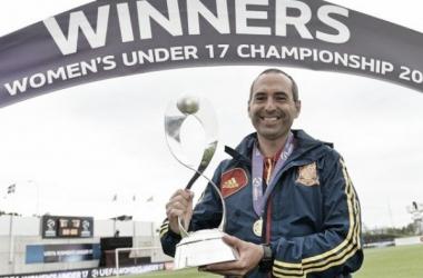 Pedro López se muestra ilusionado ante el Europeo sub-19. | Foto: (uefa.com)