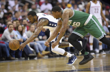 Boston Celtics vs. Washington Wizards.