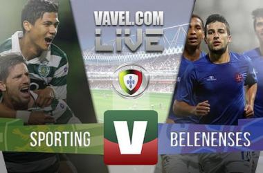 Resultado Sporting x Belenenses na Liga NOS 2015 (1-0)