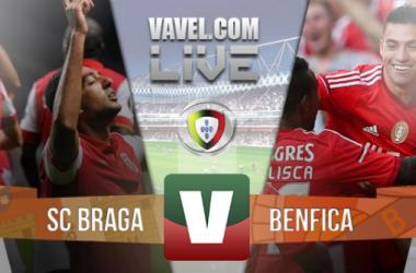 Resultado Braga x Benfica na Liga NOS 2015 (0-2)