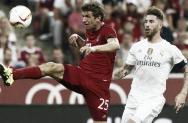 Thomas Müller y Sergio Ramos / Fuente: Bild