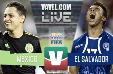 Resultado México - El Salvador en Eliminatorias (3-0)