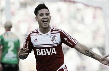 En la última vez que jugaron ganó River por 1-0, con gol de Driussi. Foto: La Nación.