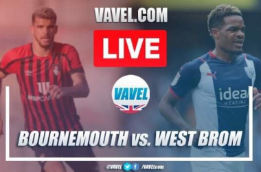 As it happened: AFC Bournemouth 2-2 West Brom in the Championship
