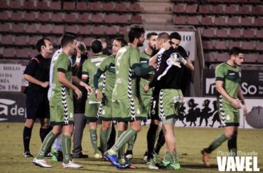 Fotos e imágenes del SD Compostela 1-2 Real Racing Club de Santander de la jornada 17, Segunda División B Grupo I