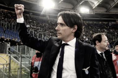 """Simone Inzaghi freia empolgação da Lazio após triunfo na Copa Itália: """"Teremos o segundo round"""""""