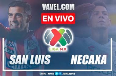 Goles y resumen del Atlético San Luis 0-2 Necaxa en Liga MX 2021