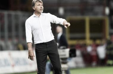 Marco Baroni sulla panchina del Benevento | Corriere dello Sport