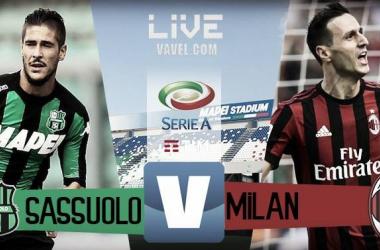 Sassuolo-Milan in diretta, Serie A 2017/18 LIVE (20.45)