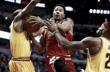 Los Bulls cornean a Cleveland Cavaliers