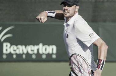 John Isner gave the USA a 2-0 lead with a win over Borna Coric/Photo: Susan Mullane/Davis Cup