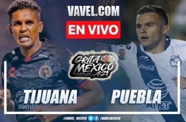 Goles y resumen del Xolos Tijuana 1-1 Puebla en Liga MX 2021