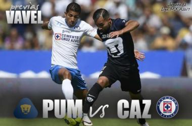 Previa Pumas - Cruz Azul: duelo capitalino