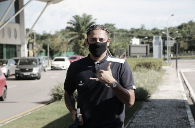 Felipe Gedoz comemora vitória do Remo e espera manter boa sequência de resultados na Série B