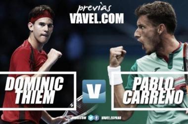 ATP Finals - Thiem vs Carreno Busta, la speranza è appesa a un filo