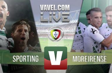 Resultado Sporting x Moreirense na Liga NOS 2015 (3-1)