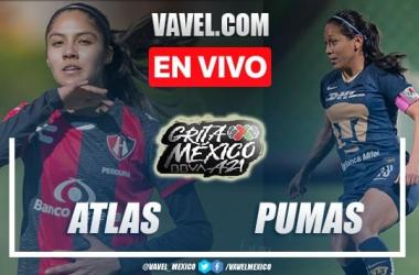 Resumen del Atlas Femenil 0-0 Pumas Femenil en Liga MX Femenil 2021