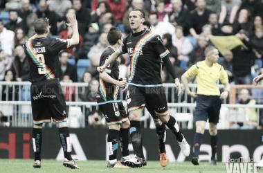 Amaya celebrando un gol | Fotografía: Dani Mullor