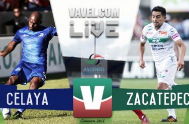 Resultado Celaya - Zacatepec en Ascenso MX 2016 (2-0)