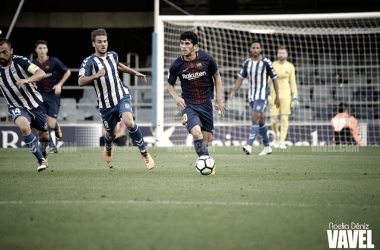 Resumen Barcelona B vs Real Zaragoza en Segunda 2018 (0-2)