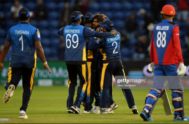 2019 Cricket World Cup: Sri Lanka overcome Afghanistan in tight affair
