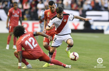 Real Madrid vs Rayo Vallecano. Fotografía: La Liga