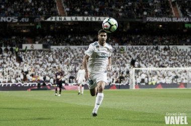 Asensio jugando con el Real Madrid | Fuente: Daniel Nieto (VAVEL)