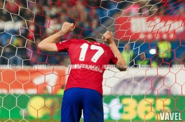 El Atlético no encajaba tres goles desde hace un año
