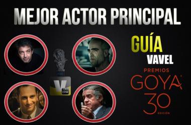 Camino a los Goya 2016: mejor actor principal