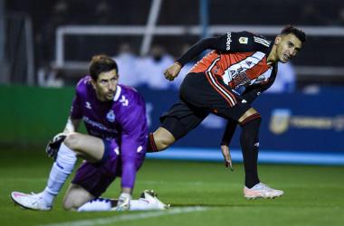 Liga Profesional: River sufrió y empató