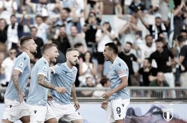 Comandados por Luis Alberto e Immobile, Lazio goleia Spezia de virada e assume ponta da Serie A