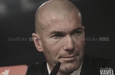 """Zidane: """"Había que sumar, lo hicimos sufriendo"""""""