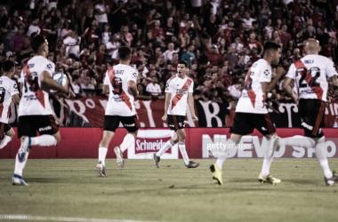 """GOLEADOR. """"Nacho"""" Fernández hoy en Atlético Mineiro, anotó uno de los tres goles en el último partido en Rosario. Foto: Getty images"""