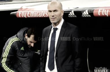 """Zidane: """"Lo más importante es recuperar la segunda plaza en Liga"""""""
