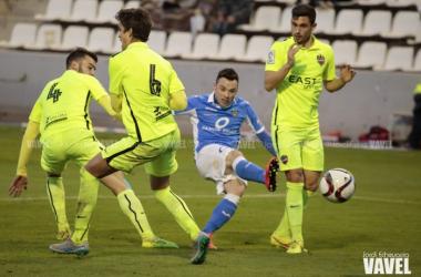 El Lleida endosa cuatro goles al Levante y recupera el tercer puesto