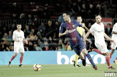 """Sergio Busquets: """"Son tres puntos más para cerrar una primera vuelta espectacular"""""""