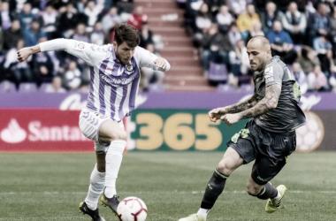 Al Real Valladolid le sigue costando ganar en casa