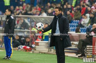 """Simeone: """"Dejamos todo en el campo, pero esto es fútbol y se puede perder"""""""