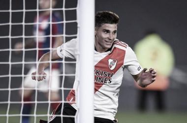 Julian Alvarez la figura del partido, River 3 - San Lorenzo 1