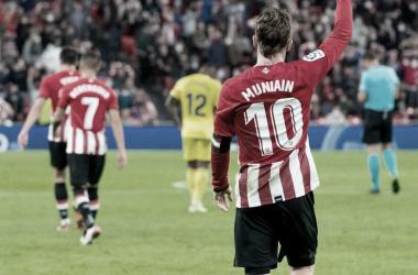 Iker Muniain en el encuentro frente al Villarreal CF // Foto: Athletic Club