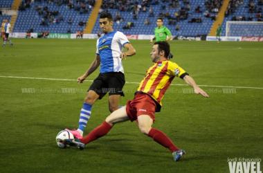 El Hércules acaba con la racha del Lleida