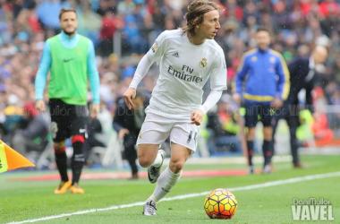 El Real Madrid en manos de Luka Modrić