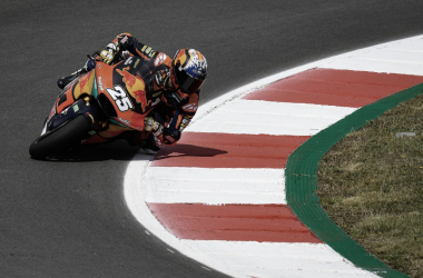 Raúl Fernández en pista / Fuente: MotoGP