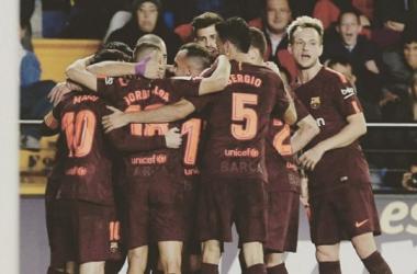 Liga - Vincono le prime quattro, cade la Real Sociedad (Fonte foto: Twitter Barcellona)