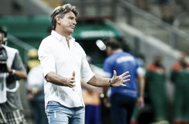 """Após empate com Juventude, Renato frisa decisão aberta: """"Faltam 90 minutos na Arena"""""""