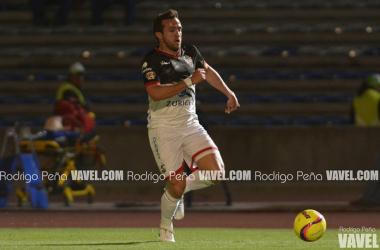 Amione generó su segundo gol en Liga MX con Lobos en el duelo ante Veracruz (Foto: Rodrigo Peña | VAVEL México)