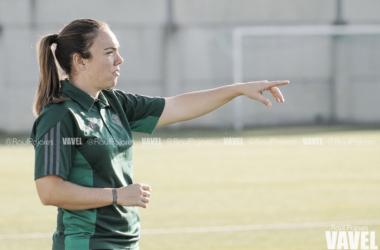 María Pry durante el partido frente al FC Barcelona | Foto: Raúl Pajares (Vavel)